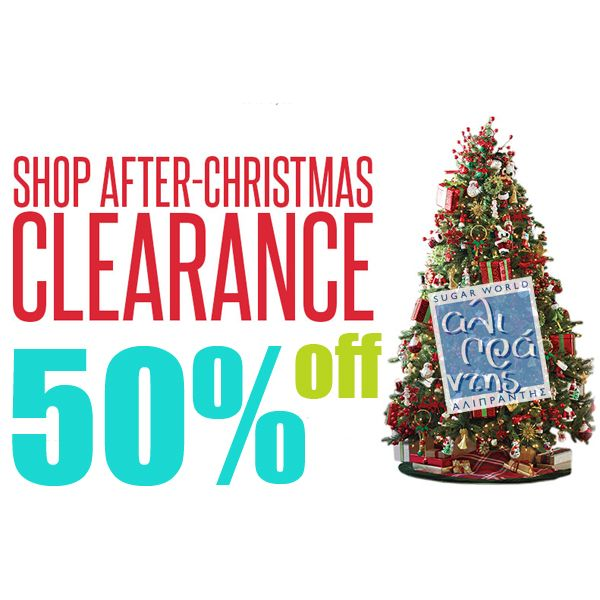 After XMAS offers from Sugarworld Aliprantis