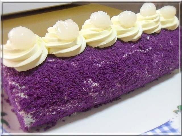 ube cake roll the 47 best images about purple yam cakes on 8151