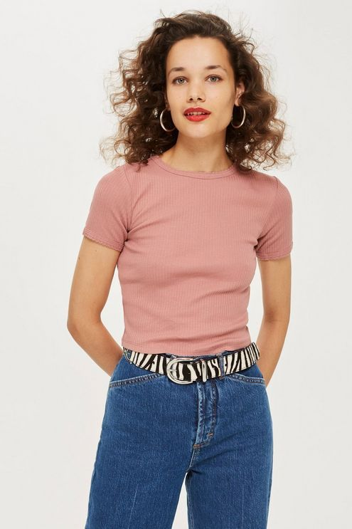 a07fcefe0 Short Sleeve Scallop T-Shirt | paris style inspo | Shirts, Short ...