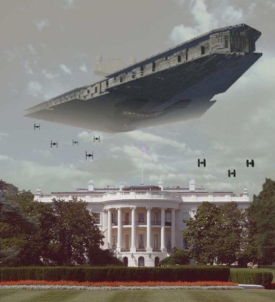 Star Destroyer over DC