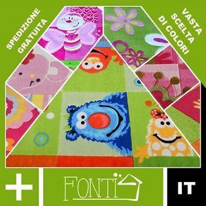 sala giochi bambini | TAPPETI-CAMERA-BAMBINI-SALA-GIOCHI-TAPPETO-ACRILICO-N-120x170-140x200 ...