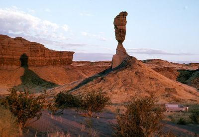 Mukurob, Finger of God  only 230 miles from Windhoek near Asab in Namibia, sadly it collapsed on 4 December 1988.