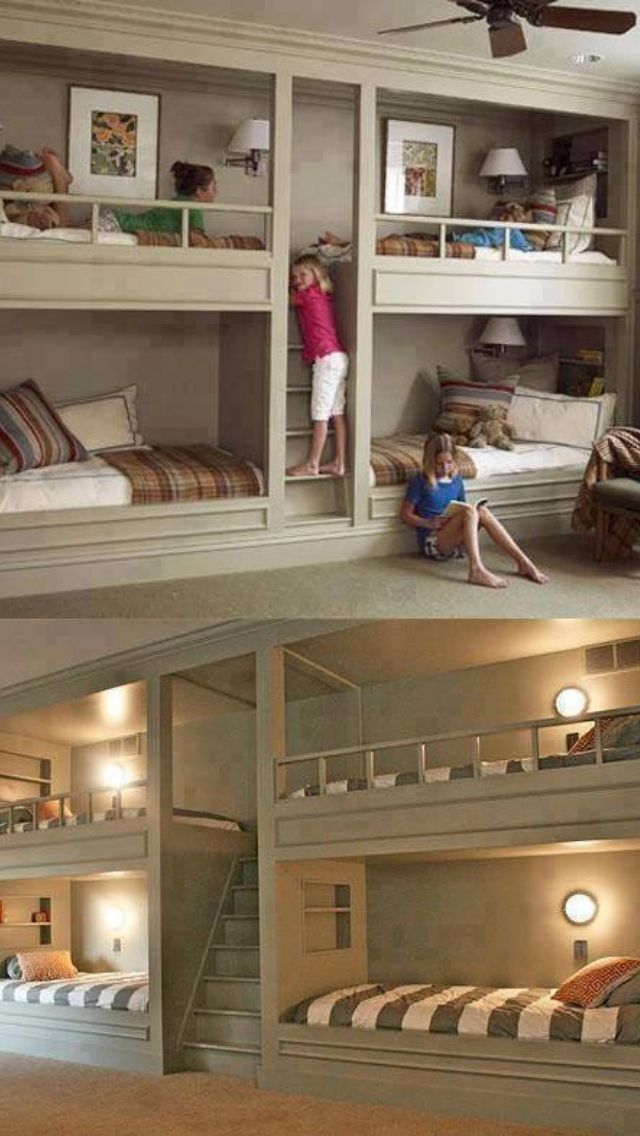 Bunk-bed organization