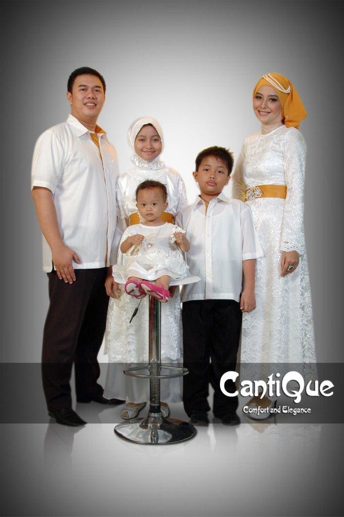 CQ 1418 Broken White Sarimbit Pesta Keluarga