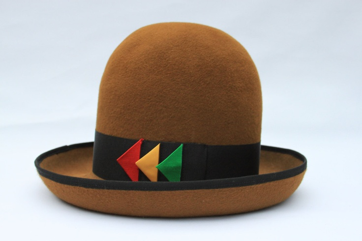 """Custom made - Rockers Uptown Hat  -----  Reggae Beaver Hat ------   Hat  from the film   """" Rockers """" as worn by Horse Mouth. £200.00, via Etsy."""