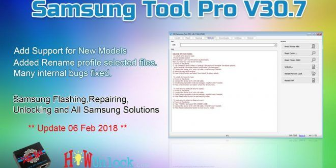 Download Latest Samsung Tool Pro v30 7 New Version Setup