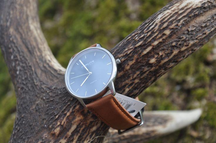 Norlite - Steel Case - Blue Dial - Cognac Brown Leather Strap   #ure #kvalitet #danskdesign #watches