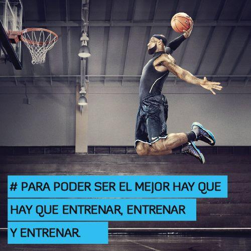 Para poder ser el mejor hay que entrenar, entrenar y entrenar  http://www.altorendimiento.com/cursos/curso-preparacion-fisica-baloncesto