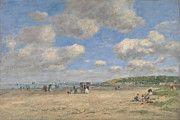 "New artwork for sale! - "" The Beach At Tourgeville Les Sablons by Eugene Boudin "" - http://ift.tt/2o6L1FK"