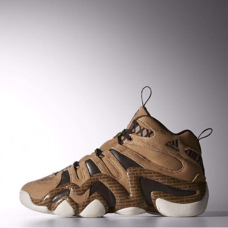 Limited Edition Adidas Crazy 8 Bhm - Cardboard / Light Brown / Night Brown Footwear