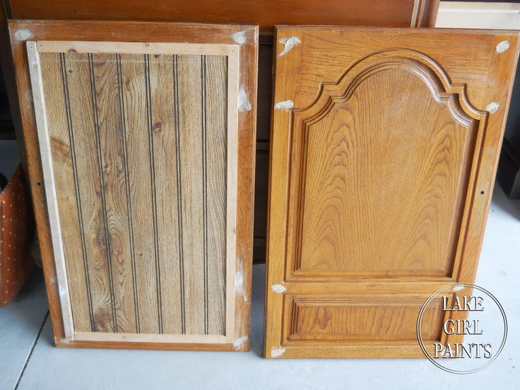 Lake Girl Paints: Old Entertainment Center Gets Beadboard Trendy Makeover.  Updating Kitchen CabinetsRestores ...