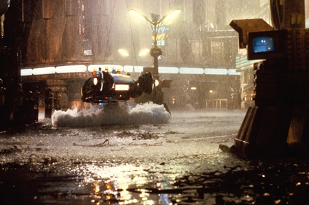Rainy day in Blade Runner