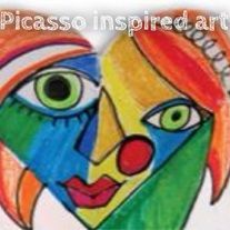 picasso s background and life experiences The tie features a black textured background embossed with picasso  new listing pablo picasso's 1969  lovely picasso silk tie for the art-lover in your life.