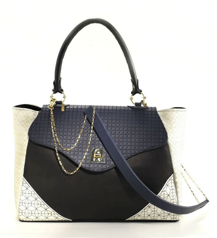 Leather bag with Removable Strap Cross #joicetanabe