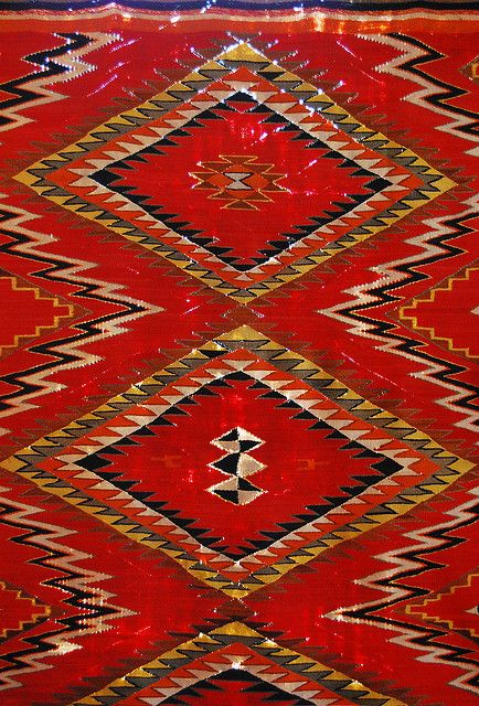 Antique Navajo Rug By Mj Picks Via Flickr Native