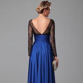 Modré šaty E00378