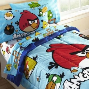 Angry Birds for your bed! #kidsgifts #angrybirds #beddingsets
