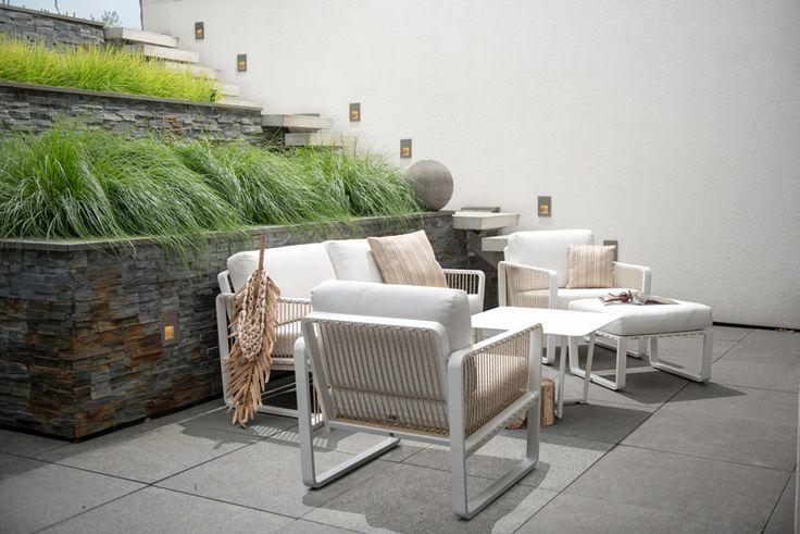 LUNA Lounge Garten Sofa 2-Sitzer #garten #gartenmöbel #gartensofa