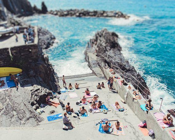 Cinque Terre, Riomaggiore, Cinque Terre Print, Cinque Terre Photo, Italy Photograph, Italy Print, Beach Print, Beach Decor, Cinque Terre Art
