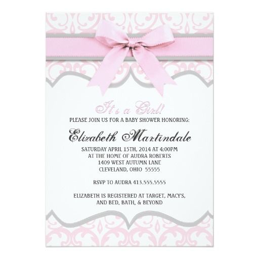 263 best images about Elegant Baby Shower Invitations on ...