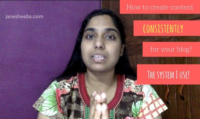 For online business owners, creating content consistently is a big thing! In this video post I share the simple system I use to create content consistently for my blogs (I run multiple blogs).
