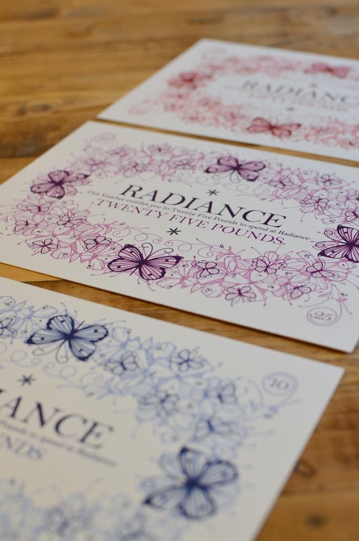 77 best gift cards images on pinterest brand identity very elegant gift vouchers xflitez Images