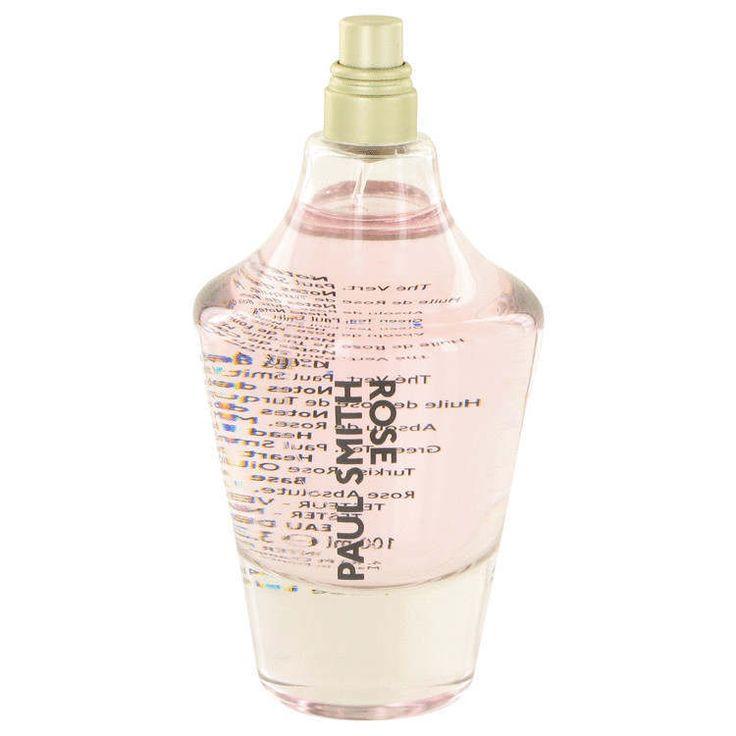 Paul Smith Rose by Paul Smith 3.4 oz EDP Spray TESTER Perfume for Women NIB #PaulSmith