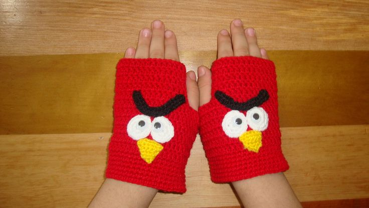 Guantes de Angry