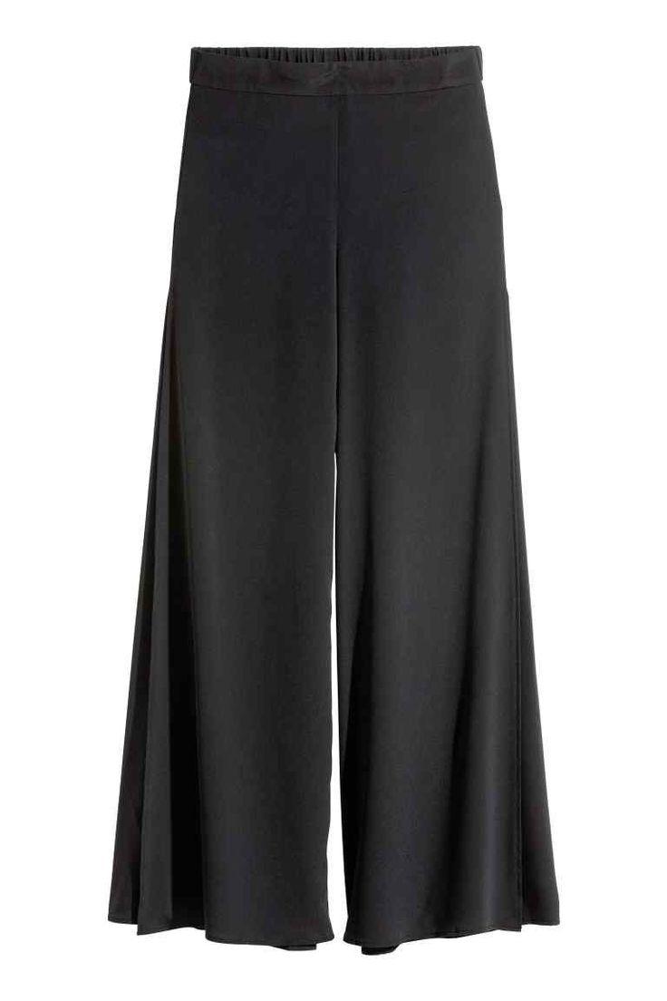 Pantalon ample avec fentes | H&M
