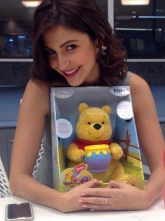 Anushka Sharma's cuteness overload at PK promotions | PINKVILLA