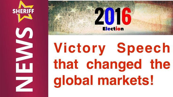 Victory Speech that changed market sentiment
