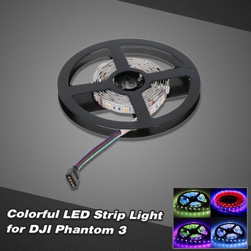 Controllable Colorful LED Strip Light for DJI Phantom 3 RC Quadcopter