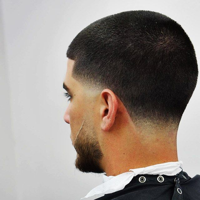 Ghim Tren Buzz Cut Shape Up Sideburn And Neck Taper