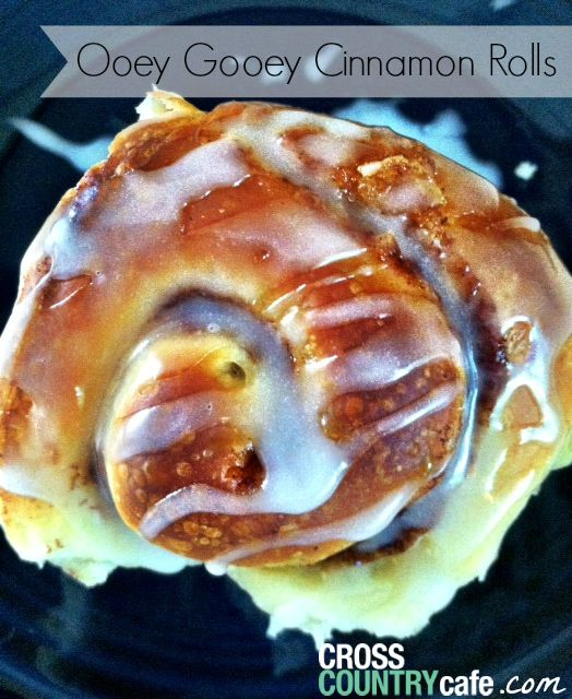 Ooey-Gooey Cinnamon Buns Recipe — Dishmaps