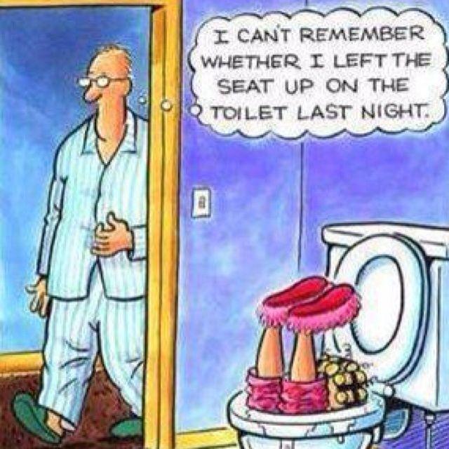The Toilet Seat Struggle Plumbing Jokes Amp Humor Funny