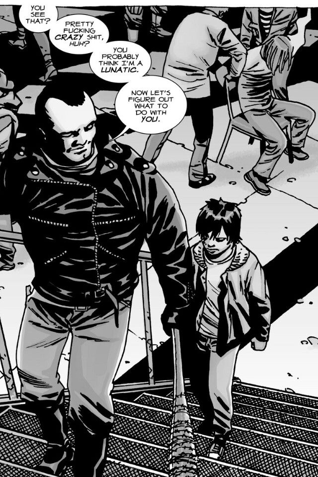 Can't wait for Negan to show up on the TV show, probs the sickest cunt throughout the walking dead series #freenegan