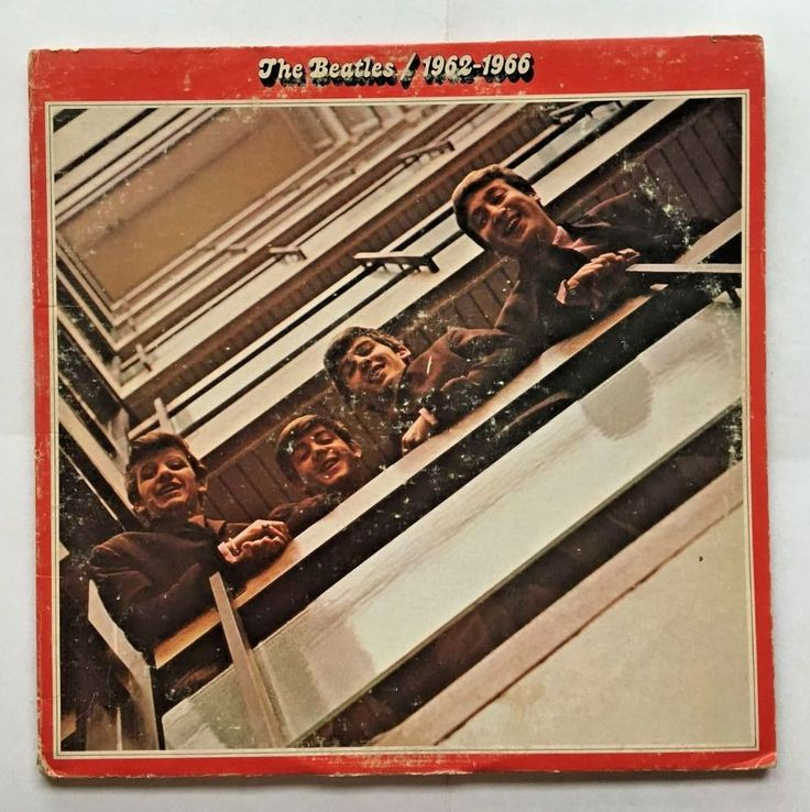 THE BEATLES [LP] 1962 - 1966 (VINYL 1973 APPLE RECORDS) SKBO 3403 #CLASSICROCK