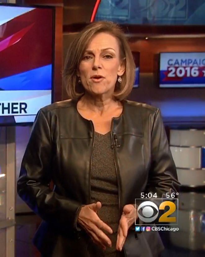Pin By John Abso On Roseanne Tellez Cbs 2 Chicago Leather Jacket