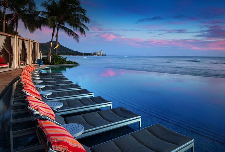 Sheraton Waikiki Hotel - infinity pool