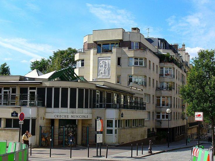 Paris 13e - Rue Duméril - Crèche municipale, Paris 2006.