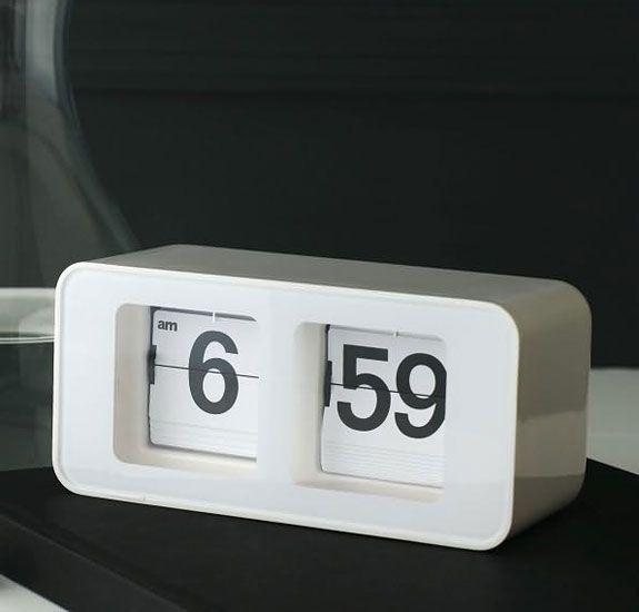 I remember when Waitrose had flip clocks on the wall near the checkouts...