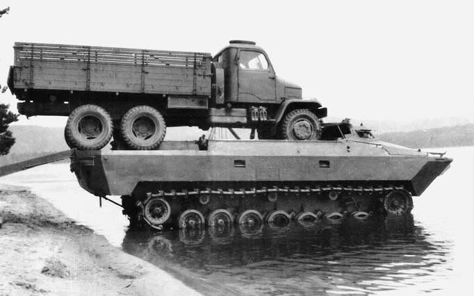 Czechoslovakian CZK-VOZ amphibian of 1954. Project was meant to emulate the DUKW, but was dogged by the unrealistic demands of the Czechoslovakian government.