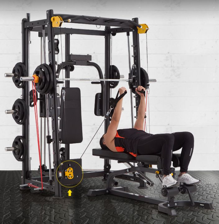 BK-3000E Light commercial Smith Machine / All in One Gym ...