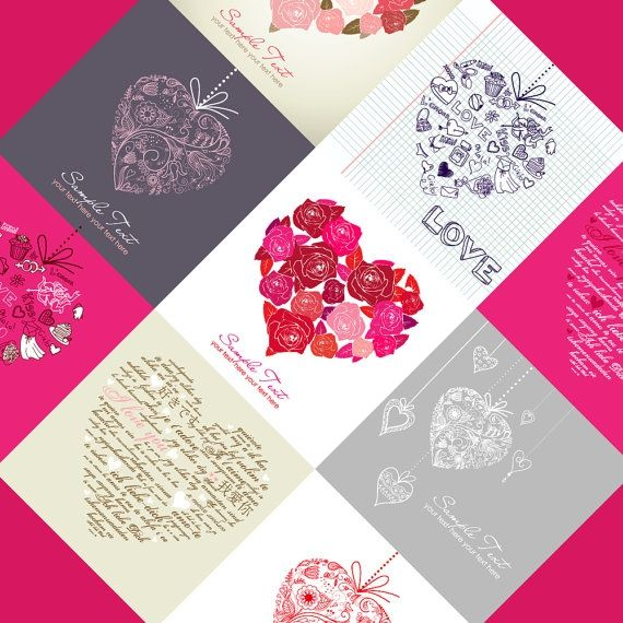 9 Digital Love Cards - Luvly Marketplace   Premium Design Resources #cards #digitalcards