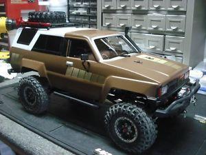 4Runner body scx-10 axial 1/10 r/c rc toyota honcho scale 10th ...