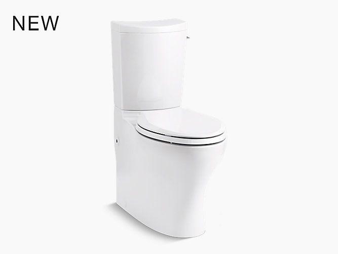 K 75790 Ra Persuade Curv Elongated Dual Flush Toilet Skirted Trapway Kohler Dual Flush Toilet Toilet Flush