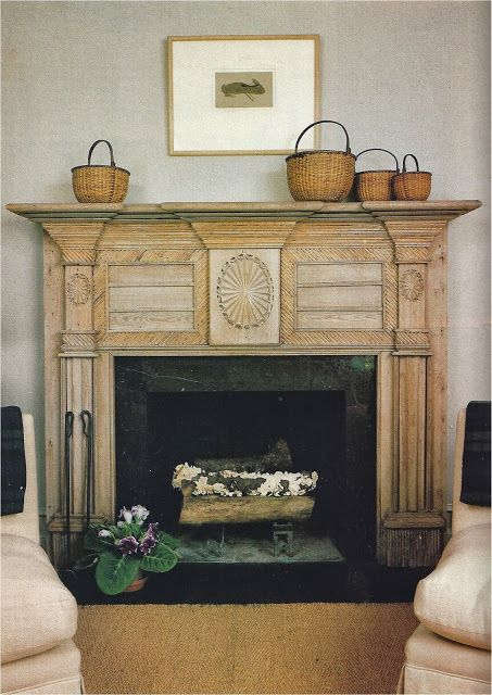 """This carved architectural beauty (mantel) belongs to designer Nancy Braithwaite."""