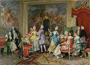 Сфера увлечений. Набор для вышивания `Дворец с Персонажами` (Артуро Риччи). Palazzo con Personaggi (small). Arturo Ricci. (Набор)