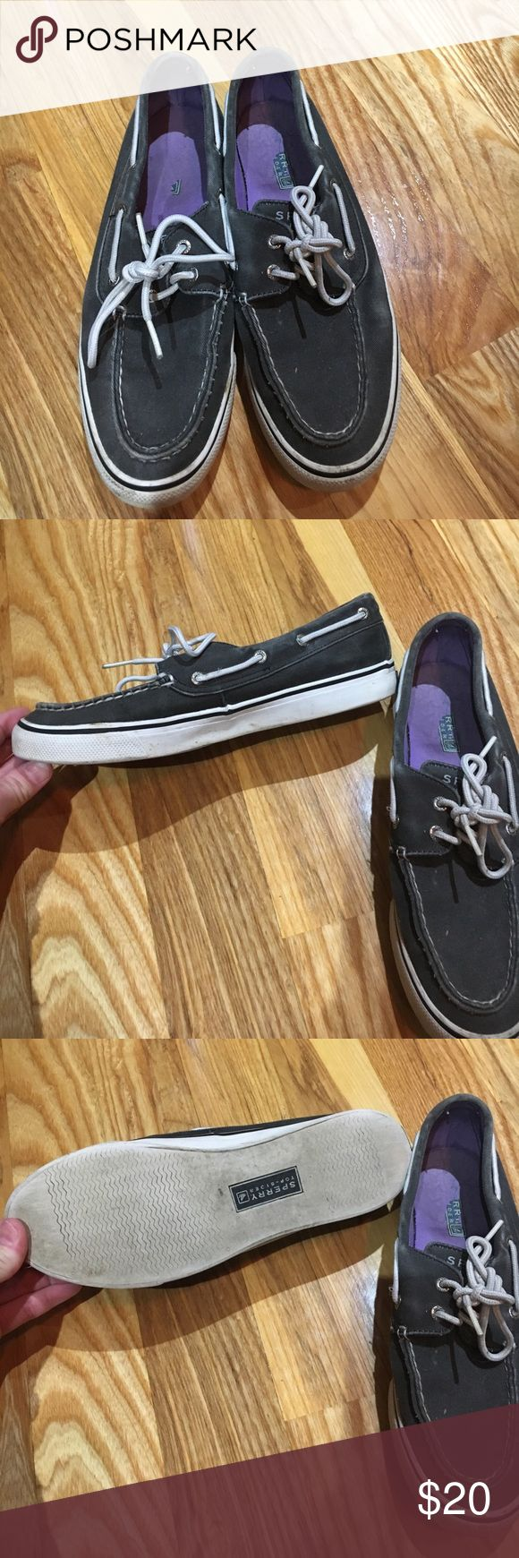 Sperry loafers Cute with jeans. Worn but still have a lot of life left. Just to tight on my feet. Sperry Shoes Flats & Loafers