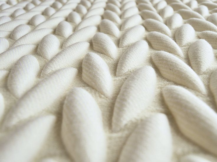 3D Textiles, consider ways of translating 3d onto fabric, could be through puff binder, devore or digital embroidery, laser cutting